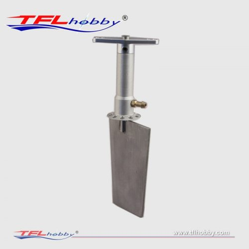 NEW TFL Aluminum Rudder With Dual Water Inlet 165mm For RC Boat Marine Gasoline